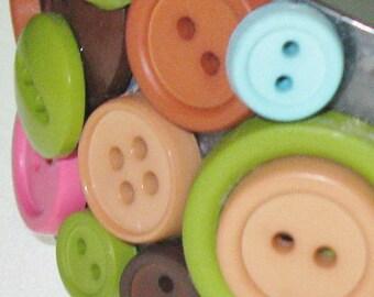 Colorful Button Bracelet