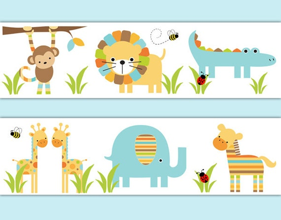Baby Safari Animals Border | www.pixshark.com - Images ...