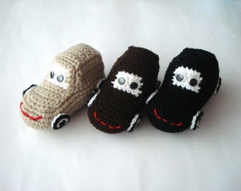 stuffed car toy, eco friendly Crochet Car Baby toy, kids toddler stuffed cars toys, crochet cars, Christmas gifts for kids ecofriendly toys