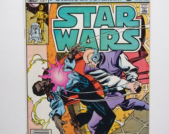 """Marvel Star Wars Comic #56 """"Coffin in the Clouds"""" - 1981 Star Wars"""