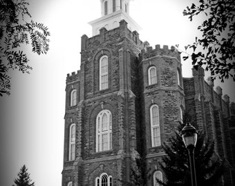 Logan Temple Picture - Digital Download Photograph - Printable