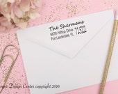 HUGE SALE Personalized Self Inking Return Address Stamp