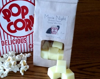 Movie Night Scented Wax Melts // Buttered Popcorn Scent