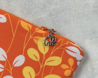Elephant Zipper Charm, Elephant Zipper Pull