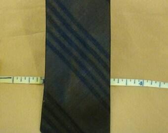 Vintage 1950's Silk Skinny Tie