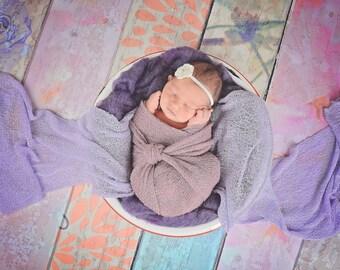 Cream Baby Headband Newborn Baby Girl Headband Newborn Headband Crochet Flower Headband Photo Prop Photography Prop Baby Shower Gift