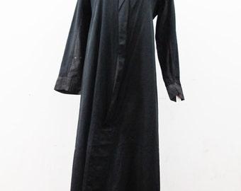 1910s Priest's Robe Ecclesiastical Robe Cassock-esq Ceremonial Robe Victorian