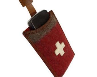 WD246 Swiss Army Blanket Phone Holder Iphone 4 & 5