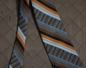 70's Beau Brummell Wide Tie