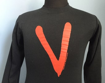 80s Vintage V 1984 tv movie mini-series long sleeved Shirt - SMALL