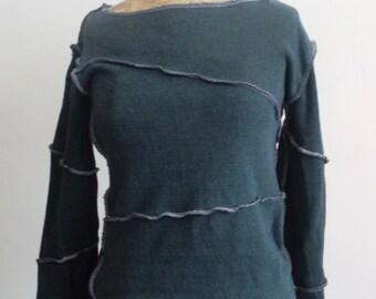 Upcycled Grey Sweatshirt