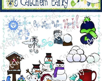 Winter Time Clip Art