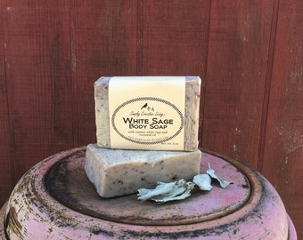Creamy White Sage Soap - Vegan