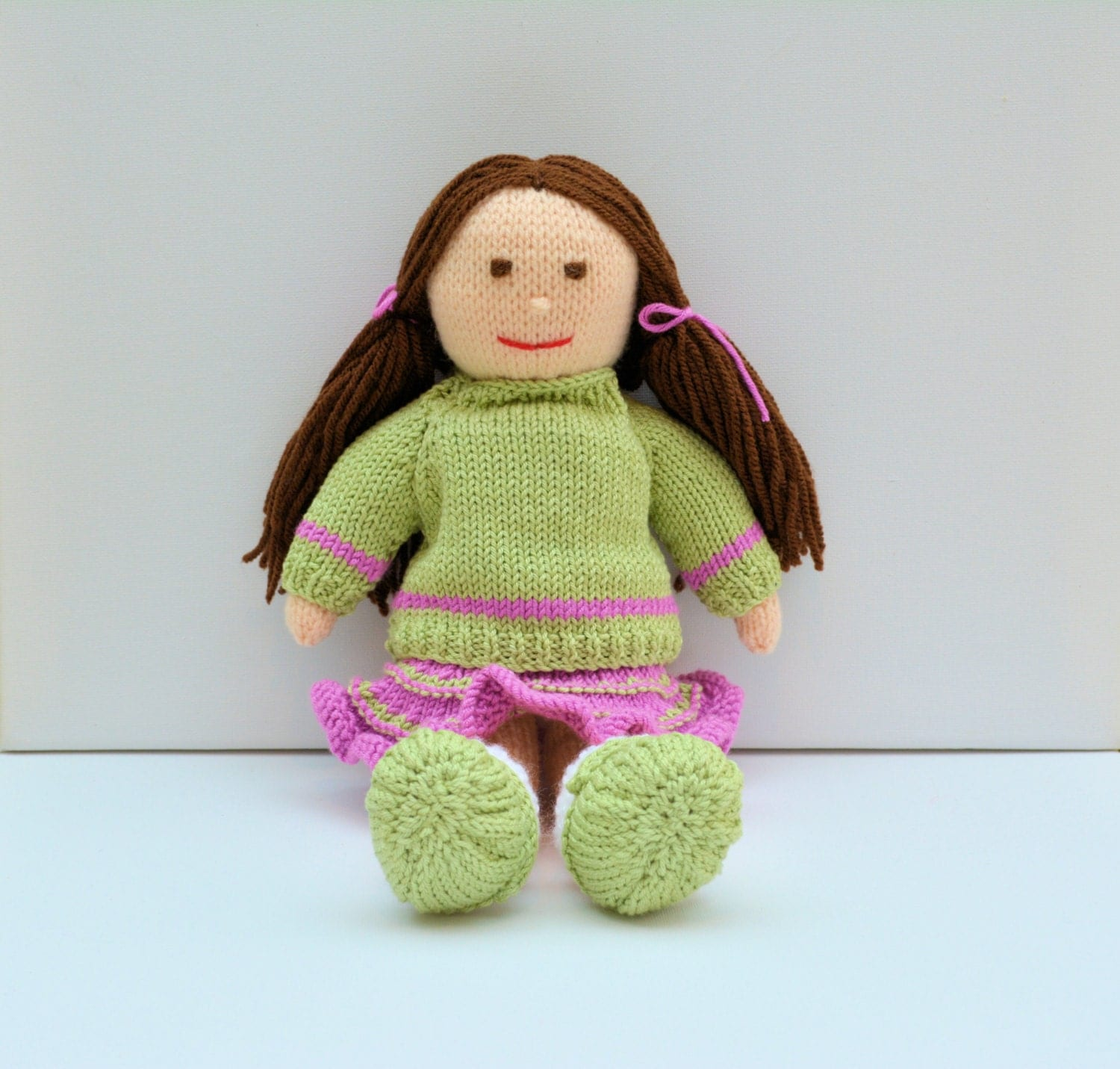 Rag Doll Knitting Pattern Doll Knitting Pattern Toy Knitting