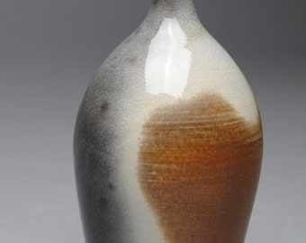 Clay Bottle Soda Fired D73