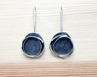 Fusion Earrings/Sterling silver