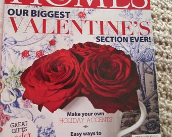 Romantic Homes February 2014 Valentines Romantic Chic Magazine Design Decor Decorating Book TVAT EPSteam WLVteam HSH
