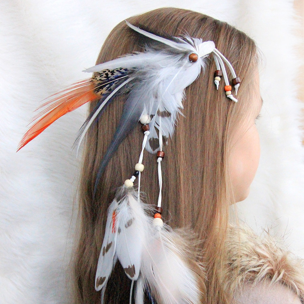 Native American Feather Hair Extension Daughter Of The Wind