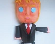 Top-line Donald Trump Pinata | Movable Limbs | Interactive Pinata | Rag Doll Pinata | Fun Party Game | Funny Photo Prop | Donald Trump Decor