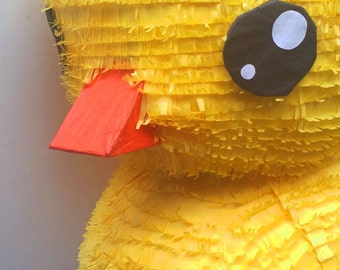 Jumbo Sunshine Yellow Rubber Ducky Pinata