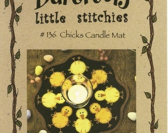 Chicks Candle Mat Pattern and Kit Bundle by Bareroots (BR136)