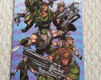 Team 7 Comic Book  Image Comics, Vol 1, No 1B October 1994, First Printing