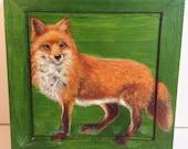 RED FOX Treasure Box
