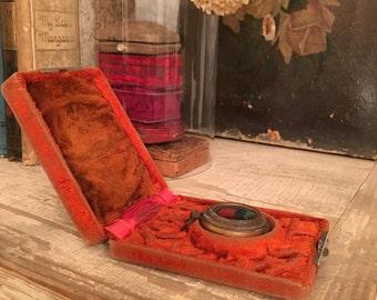Victorian Pocket Watch Box