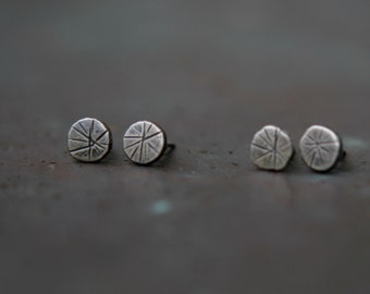 Sterling Silver Star Earrings - Star Studs - Recycled Silver Post Earrings - Silver Studs - Minimalist Earrings