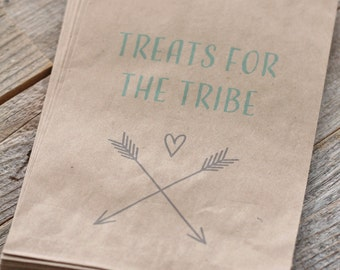 Tribal Favor Bags (25)