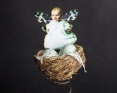 Baby Fairy, Nest, Bed Spring,  Eggs