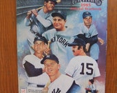 Vintage 1985 New York Yankees Official Yearbook