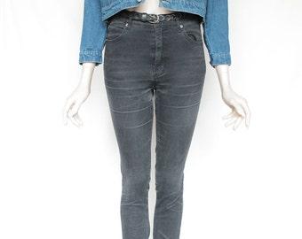 80s Vintage Small Blue Jean Denim Jacket for Men or Women