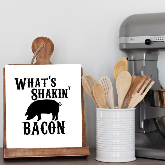 Printable wall art prints 8x10 bacon kitchen decor home for 8x10 kitchen designs
