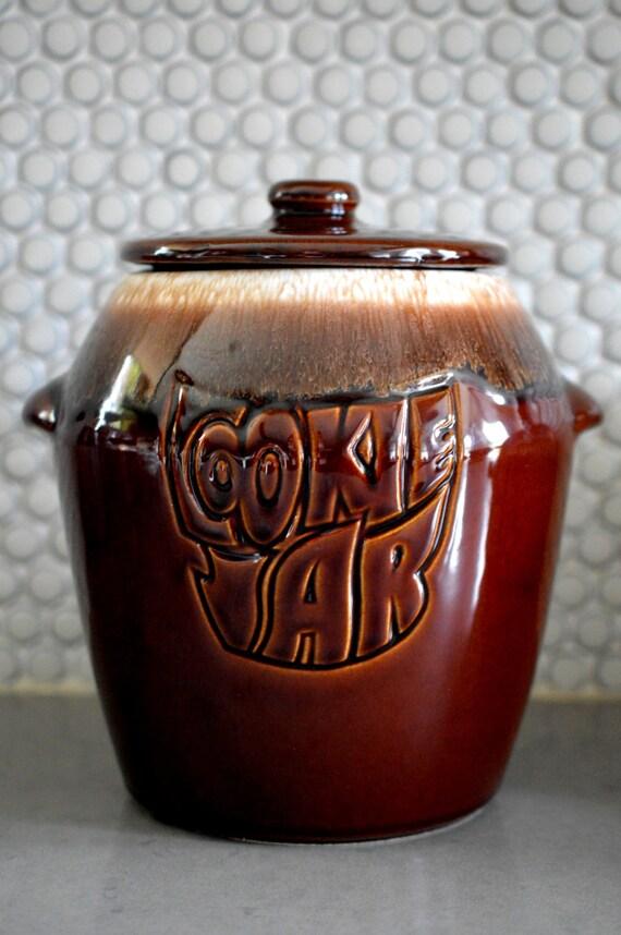 Mccoy Brown Drip Cookie Jar 1960 39 S By Songsparrowtreasures