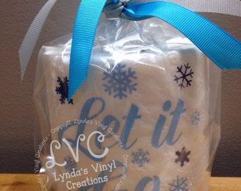 Let it go//Funny Toilet Paper gag gift