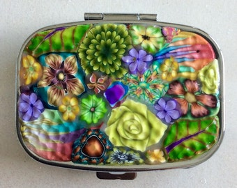 Polymer Clay Pill Case
