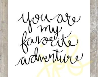 Favorite Adventure 11x14