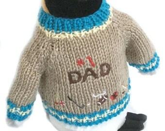 "Penguin Plush #1 Dad (10"" Tall)"