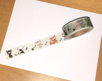 Cute Kitties Washi Tape