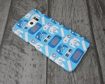 Generations Video Game Controllers Patterned Samsung Galaxy S6 Edge Case