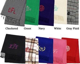 Personalized Cashmere Feel Scarves