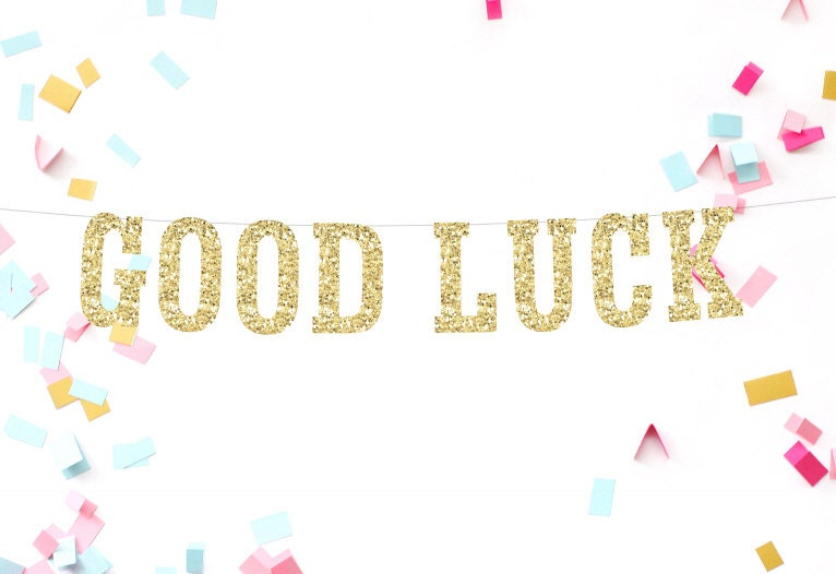 Image result for good luck banner