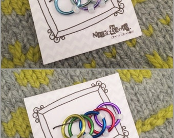 Knitting Stitch Markers (up to 8mm)
