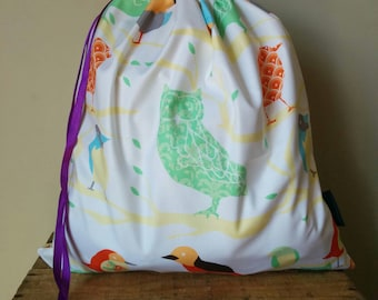 Library Book Bag - Forest Critters
