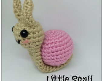 Little Amigurumi Snail