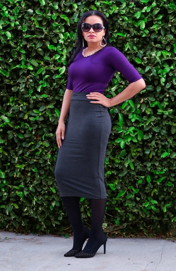 Long Tight Pencil Skirt