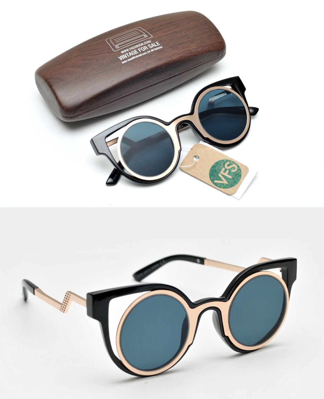retro future sunglasses unique design space eyewear