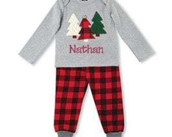 Infant boy christmas outfit | Etsy