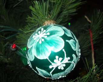 Hand-crafted and Hand-painted Personalized Christmas Ornaments